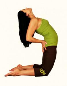 Posturas de Yoga: Ustrasana o Postura del Camello