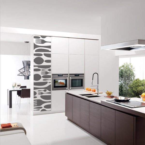 Vinilos decorativos y fotomurales para tu cocina - Vinilo muebles cocina ...