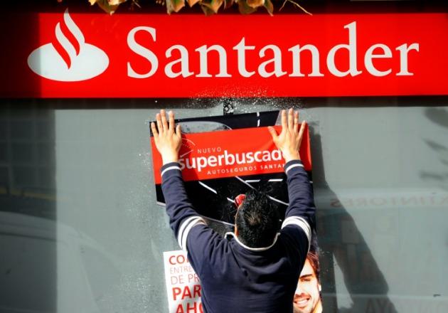 El banco santander prev cerrar el 13 de sus sucursales for Sucursales banco espana