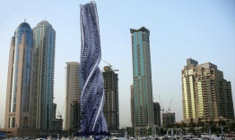 Arquitectura de vanguardia: Dynamic Tower en Dubai