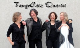 Album debut de TangoCatz Quartet: Spell of Tango